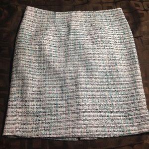 Kenar Tweed Pencil Skirt